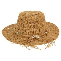 Buy cheap Straw Crocheted Raffia fedora hat from wholesalers