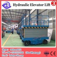 Buy cheap Mast Climbing Electric Hydraulic Work Platform Ladder Elevated Aluminum Lift from wholesalers