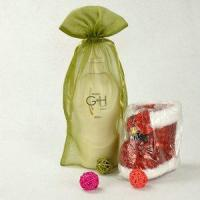 Buy cheap china suppliers christmas organza packaging bag with drawstring from wholesalers