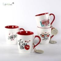 Buy cheap American Style Stoneware Eastern Espresso Coffee Cups Modern Custom Ceramic cafe cup from wholesalers