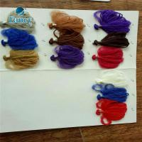 Buy cheap 100% Acrylic Hand & Machine Knitting Brazil wool hair Yarn for African Synthetic Braiding from wholesalers