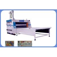 Carton box printing machine Electrical Image Positioning Water Printing and Sub Pressing Machine