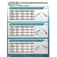 Buy cheap Titanium wire leader Titanium wire leader from wholesalers