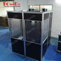 Buy cheap Simultaneous Black Interpretation Booth/Translation Booth from wholesalers