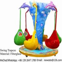 Buy cheap 6 Seats Rotation Carousels Swing Trapeze Toy For Kids from wholesalers