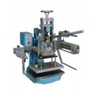 Buy cheap manual hot stamping machine for leather from wholesalers