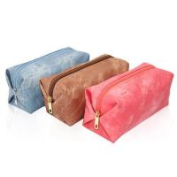 Buy cheap Stylish Canvas Cosmetic Bag Travel Toiletry Bag from wholesalers