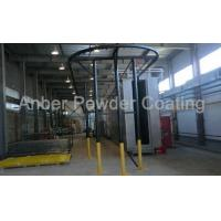 Buy cheap Fence mesh fluidized bed coating line from wholesalers