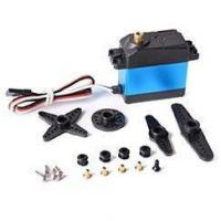 Buy cheap DJX Waterproof High Torque Metal Gear 20kg RC Servo Motor Airplane Helicopter Boat from wholesalers
