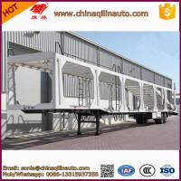 Buy cheap 2 Axle Car transport semi trailer from wholesalers