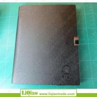 Buy cheap Three folds PU ring binder notebook for wholesale from wholesalers