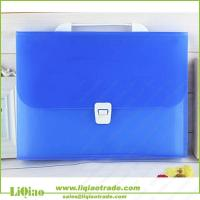 Buy cheap A4 colorful pp 13 pockets expanding file folder with handle from wholesalers