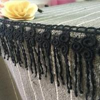 Buy cheap 9.5cm Width Cotton Tassel Lace Trimming for Curtain J30# from wholesalers
