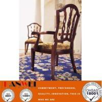 Wholesale Other Material Classic Wooden Chair With Armrest from china suppliers