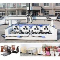 Wholesale Curved Plywood Office Chair Cutting CNC Router C2W4 from china suppliers