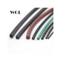 Buy cheap brown green fkm viton fpm o ring cord square cord with 70 duro from wholesalers