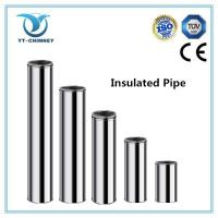 Buy cheap 5''6''8''stainless steel double wall insulated chimney flue pipe from wholesalers