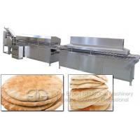 Buy cheap Automatic Arabia Pita Bread Making Machine|Commercial Lebanon Bread Machine from wholesalers