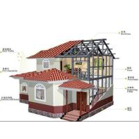 Buy cheap china product easy build light steel prefab house with one level from wholesalers