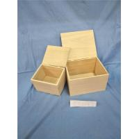 Wholesale Wooden Gift Box with Hinge from china suppliers