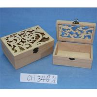 Wholesale Wooden Carved Out Box for Storage from china suppliers