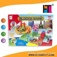 Buy cheap Hot sell BO Rail Bricks W/Light & Music toy educational toys for kids toys from wholesalers