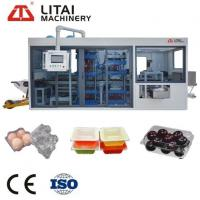 Buy cheap Full Automatic Plastic Egg Tray Thermoforming Machine from wholesalers