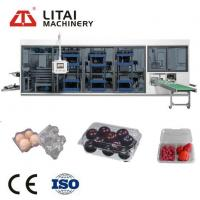 Buy cheap Plastic Food Container Thermoforming Machine For Food Package Container from wholesalers
