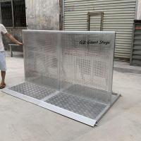 Buy cheap China supplier temporary event fence concert used crowd control barriers for sal from wholesalers
