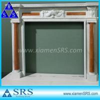 Buy cheap FP018 limestone fireplace surround from wholesalers