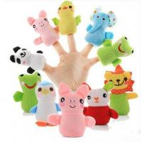 Buy cheap New design funny animal cartoon mouse plush finger puppet customized stuffed finger toys from wholesalers