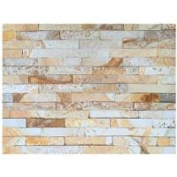 Buy cheap Golden Sunshine Sandstone Natural Stone Wall Cladding from wholesalers
