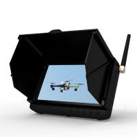 Buy cheap 1.2GHz 5inch Mini Wireless Camera DVR Wireless FPV Monitor With Sunshade from wholesalers