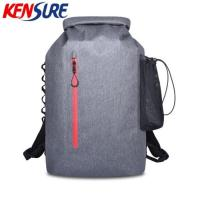 Buy cheap 35L Floating Waterproof Roll-top Fishing Dry Backpack Bag KSC43 from wholesalers