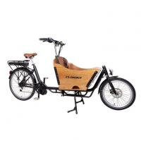 Buy cheap BAFANG MID Motor Two Wheels Electric Cargo Bike from wholesalers