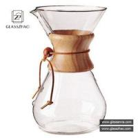 Buy cheap Chemex Handblown Custom Unbreakable Eco Life Style Pyrex Glass Coffee Pot from wholesalers