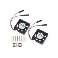 Buy cheap Makerfire 2pcs Raspberry Pi DC Brushless Cooling Fan Heatsink Cooler Radiator Connector Separating O from wholesalers
