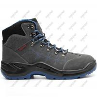 Buy cheap Light weight steel toe woodland PU outsole ESD safety men shoes from wholesalers