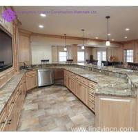Buy cheap High end popular kitchen cabinet with bar design from wholesalers