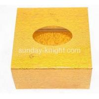 Buy cheap Custom small acrylic box square tissue box perspex box DBK-086 from wholesalers
