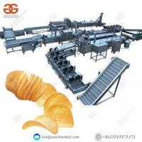 Buy cheap French Fries Potato Chip Production Line Frying Potato Chips Making Machine Price from wholesalers