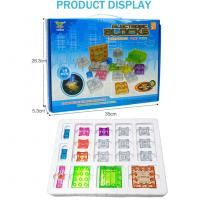 Buy cheap 19pcs Touch-controlled Light Electronic Circuits Building Blocks Physics Science Kits Electric from wholesalers