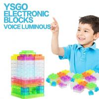 Buy cheap 32pcs Voice-controlled Light Electronic Building Blocks Physics Science Kits Electric Discovery Kit from wholesalers
