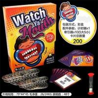 Buy cheap Watch ya's mouth Braces game card board game interactive game from wholesalers