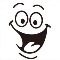 Buy cheap smiley toilet stickers bathroom wall stickers from wholesalers