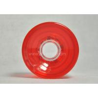 Buy cheap PU Wheels 70X51 Transparent Red product