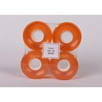 Buy cheap pu wheels for skate board 60*45 transparent orange from wholesalers