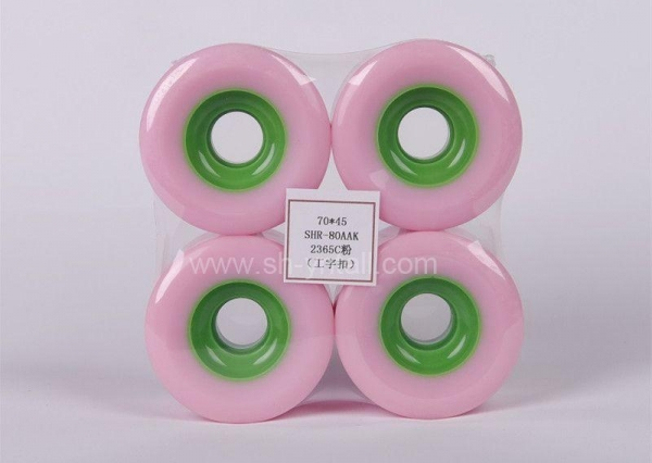 Buy cheap pu wheels for skate board 70*45 from wholesalers