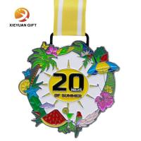 Buy cheap 3D High Quality Professional Customized Metal marathon Sport Medal of Souvenir from wholesalers