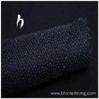 Buy cheap Polyester woven Interlining fabric for high grade suit from wholesalers